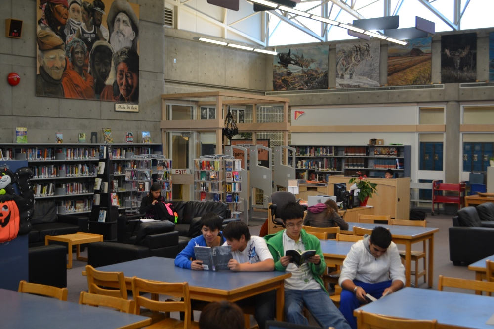 Welcome to the NEW North Surrey Library and Learning Commons (3/5)