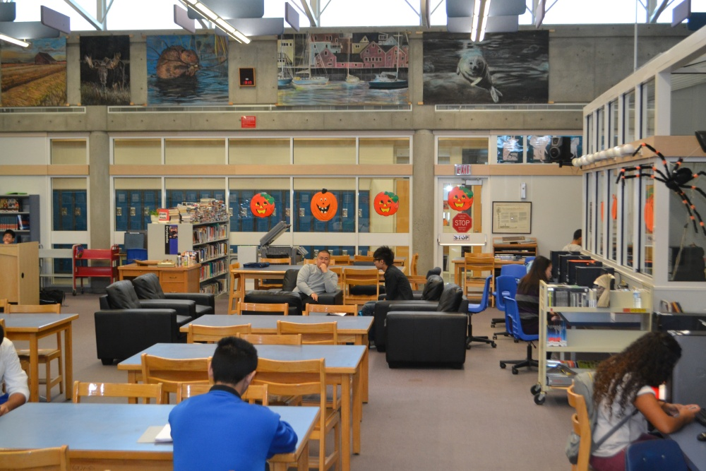 Welcome to the NEW North Surrey Library and Learning Commons (4/5)