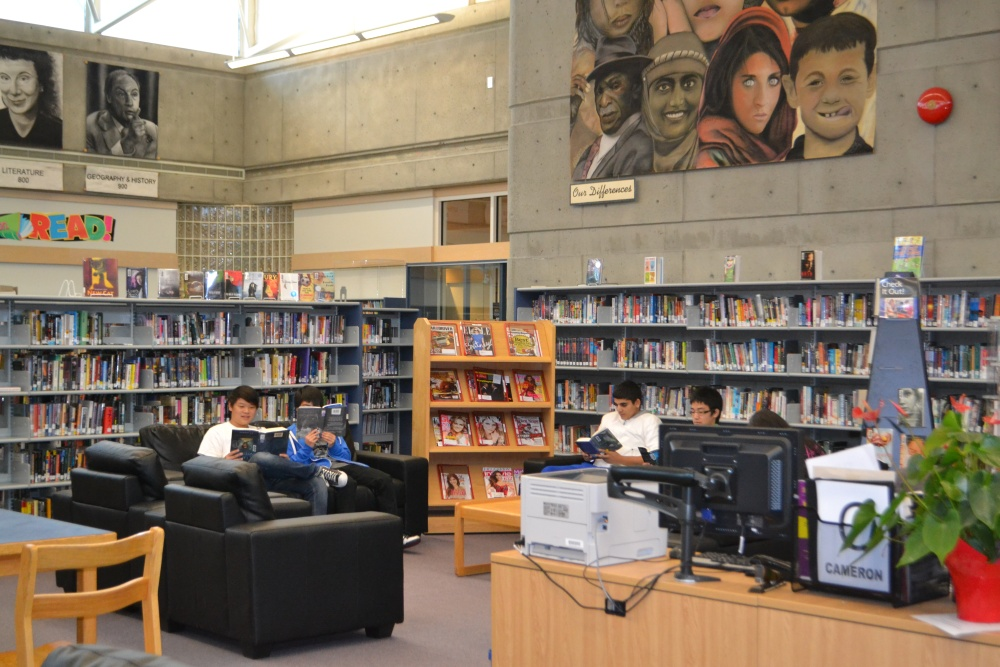 Welcome to the NEW North Surrey Library and Learning Commons (5/5)