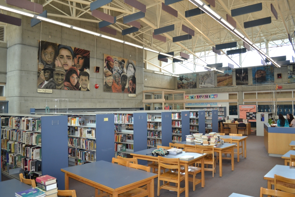 Welcome to the NEW North Surrey Library and Learning Commons (2/5)