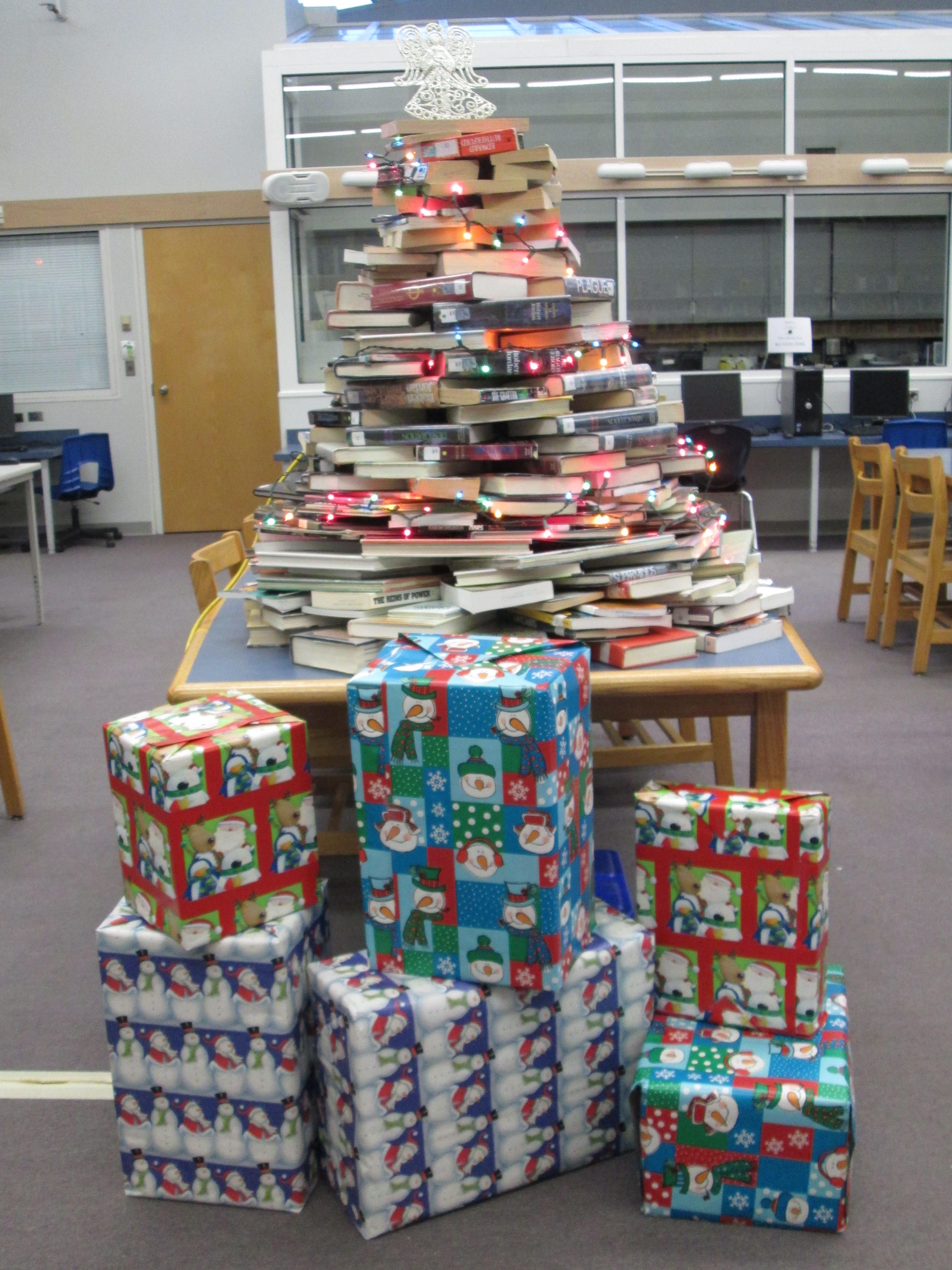 Surrey libraries christmas opening gifts
